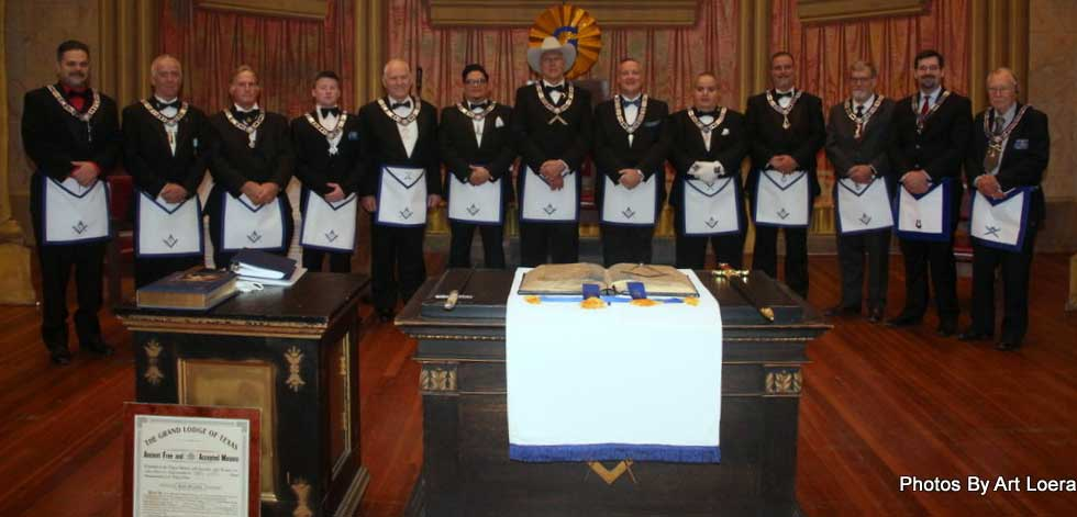 Officers of Perfect Union Lodge No. 10